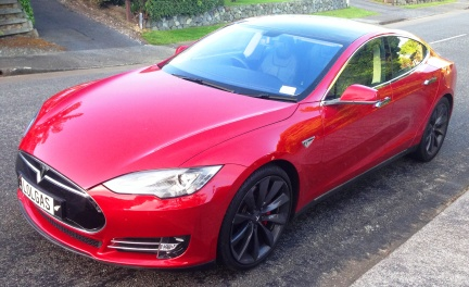 Tesla S front