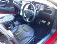 Tesla S interior