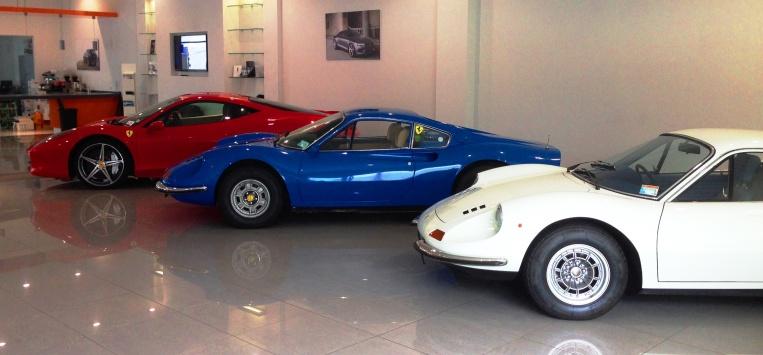 Ferrari line up