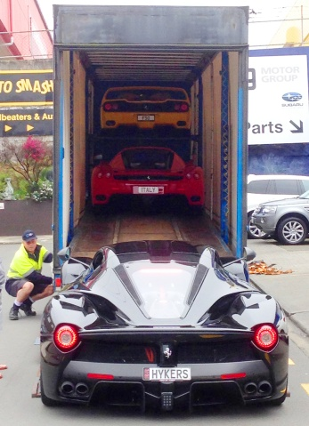 Ferrari trailer line up