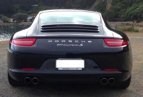Porsche 991.1 rear