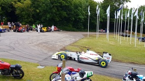 Brawn winning F1 car